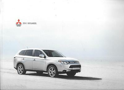 2014 14  Mitsubishi Outlander  Sales brochure MINT