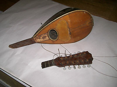 mandolin bowlback for parts or restore as found