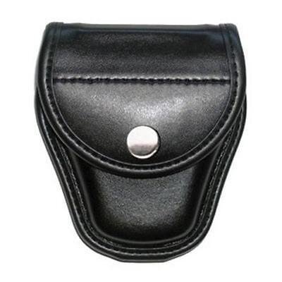 Bianchi 22064 AccuMold Elite Covered Leather Handcuff Case Holds One Pair Of
