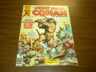 THE SAVAGE SWORD OF CONAN #16 Marvel magazine 1976 Red Sonja GGA