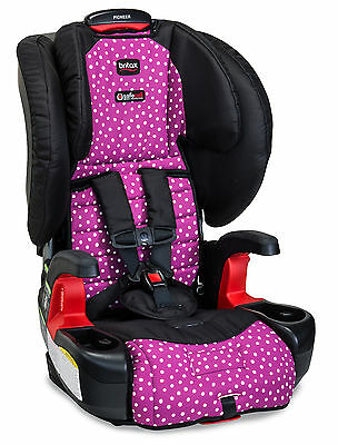 Britax Pioneer G1.1 Booster Car Seat With Harness in Confetti New!
