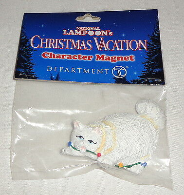 Department 56 National Lampoon`s Christmas Vacation Cat Magnet NIP