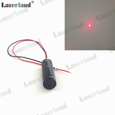10*30mm Focusable 650nm 5mW Red Dot Diode Laser Module 3VDC