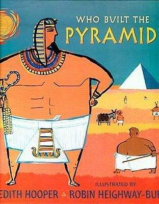 "Children's ""Who Built the Pyramids"" Pharaoh Senwosret Ancient Egypt Tomb Robbers"
