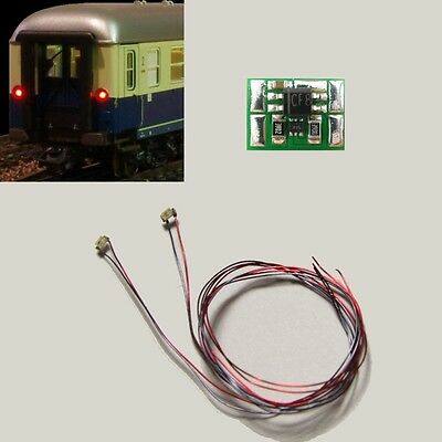 S734 LED Train tail lamp Lighting circuit Wagons with SMD 0603 LEDs red