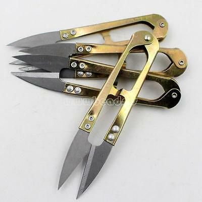 10pcs Clippers Sewing Trimming Scissors Grip Thread Tailor Yarn Scissors Cutter