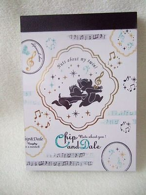 Disney Chip & Dale mini memo pad music