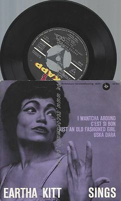 "7"" Eartha Kitt Sings"