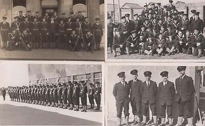 British Soldier in Singapore Army 4x Military Parade Group Photo Postcard s