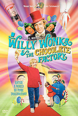 Willy Wonka and the Chocolate Factory (F DVD