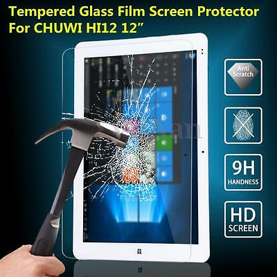 9H Anti-burst Hardness Tempered Glass Film Screen Protector For CHUWI HI12 12""