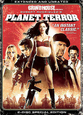 Grindhouse Presents, Planet Terror - Ext DVD