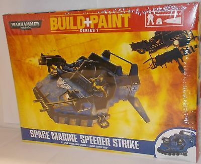 Warhammer 00081 - Build + Paint - Space Marine Speeder Strike - New. (Kit)