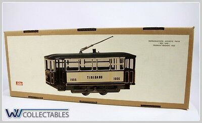Paya Tin Toy Tranvia Tibidabo 1925 Limited Number. New Old Stock