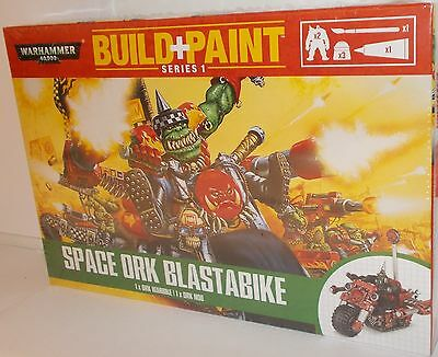 Warhammer 00085 - Build + Paint - Space Ork Blastabike - New. (Kit)