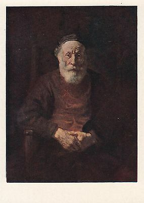 Post Card - Rembrandt / painting (3)