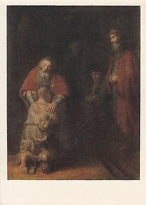Post Card - Rembrandt / painting (10)