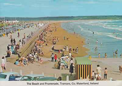 Tramore Beach County Waterford Postcard
