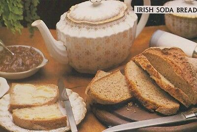 Irish Soda Bread To To Make Ireland Ballyconnell Rare Cookery Postcard