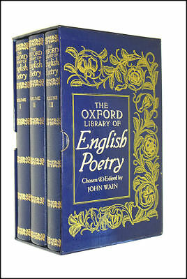 The Oxford Library of English Poetry - 3 Volume Box Set in Slipcase