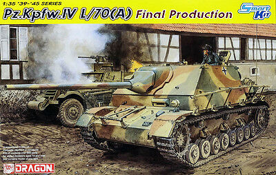 Pz. Kpfw. IV L/70 (A) Final Panzer German Tank 1:35 Modell Kit Dragon 6784