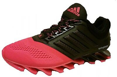 new style d6314 f869b Adidas Junior SPRINGBLADE Drive 2 Running Trainer C77778 Black Red UK  3.5-6.5