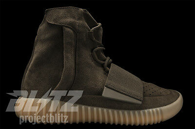 2c557f61962ec Adidas Yeezy Boost 750 Chocolate Brown Gum Kanye By2456 Black Friday Sales  7-14