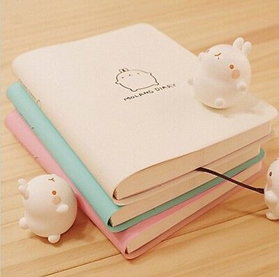 Cute Notebook Cartoon Molang Rabbit Journal  Diary Planner Notepad for Kids Gift