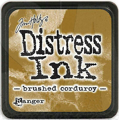 Tim Holtz Ranger Distress Ink Pad Full Size  New - Brushed Corduroy -