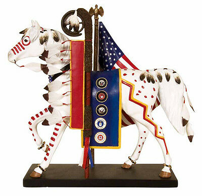 Trail of Painted Ponies TRAIL OF HONOR PONY FIGURINE #12267 New, 1st Edition