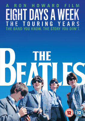 The Beatles: Eight Days a Week - The Touring Years DVD (2016) Ron Howard cert