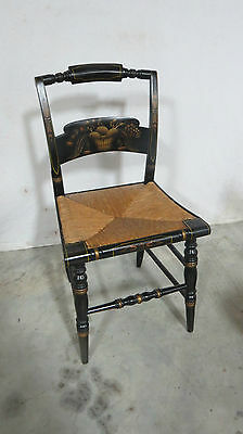 Black Hitchcock Farmhouse Side Chair