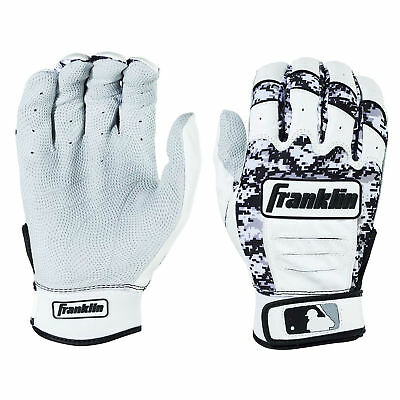 Franklin CFX Pro Digi Adult Baseball/Softball Batting Gloves - Pearl/Black - XXL