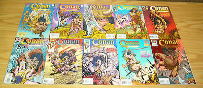 Conan the Adventurer #1-14 VF/NM complete series - roy thomas  marvel comics set