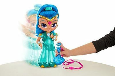 "Fisher-price Shimmer & Shine Wish & Spin Shine Doll 12"" New"