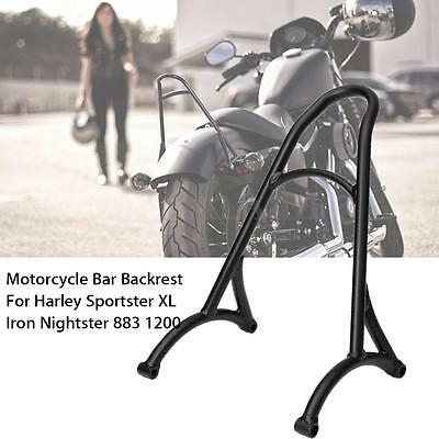 Schienale Bar Metallo Moto Per Harley Sportster Xl Iron Nightste 883 1200