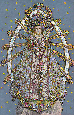 Our Lady Of Lujan Argentina Antique Spanish Religious Card