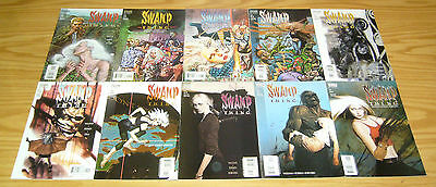 Swamp Thing #1-20 VF/NM complete series + preview + secret files brian k vaughan