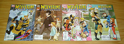 Wolverine and Power Pack #1-4 VF/NM complete series - all ages marvel comics 2 3