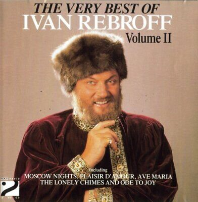The Very Best Of Ivan Rebroff: Volume II -  CD TUVG The Fast Free Shipping