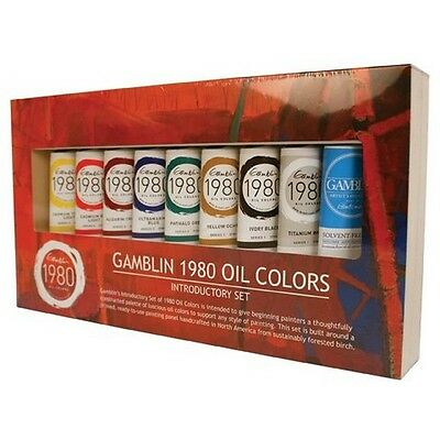 Gamblin GB101110 1980 Oil Color Exclusive Set NEW