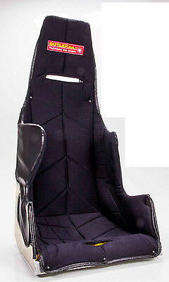 "BUTLER SPORTSMAN 25deg.LAYBACK 18"" RACING SEAT ALUMINUM BLK COVER TWEED 18A120"