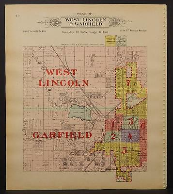 Nebraska, Lancaster County Map, 1903, Township of West Lincoln, Garfield, L1#51