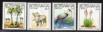 $Botswana Sc#329-32 M/NH, complete set, topical, Cv. $20.25