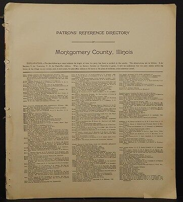 Illinois, Macoupin County Map, 1911, Carlinville, Two Double Pages, L1#85