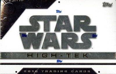 2016 Topps Star Wars High Tek Hobby Box Blowout Cards