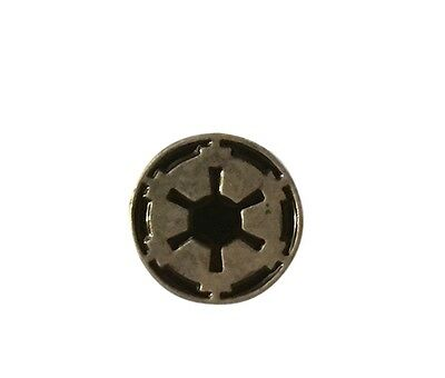 Star Wars Galactic Empire Vintage Look Silver and Black Pewter Lapel Pin Disney
