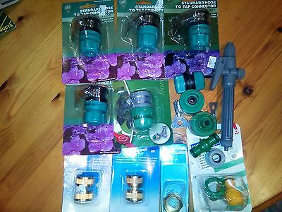 JOB LOT of garden hose attachments. BNIB