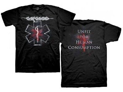 CARCASS - Unfit for human consumption T-Shirt Größe / Size M L XL XXL