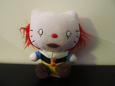 Pennywise the Clown creepy Hello Kitty doll Stephen King